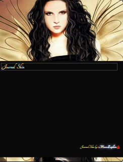 Fairy Journal Skin by VladNoxArt