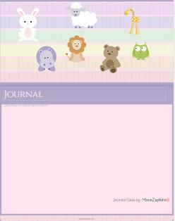 Cute Journal skin by VladNoxArt