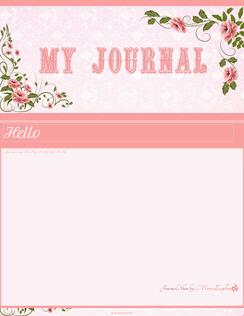 Rose Journal skin by VladNoxArt