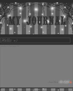Grey Journal Skin by VladNoxArt