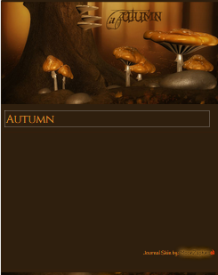 Autumn Journal Skin by VladNoxArt