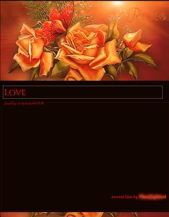 Autumn rose Journal Skin by VladNoxArt