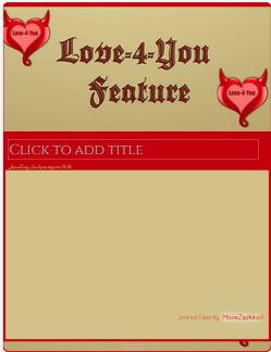 Love-4-You  Journal skin by VladNoxArt