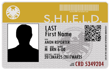 Agent's of S.H.I.E.L.D. ID card