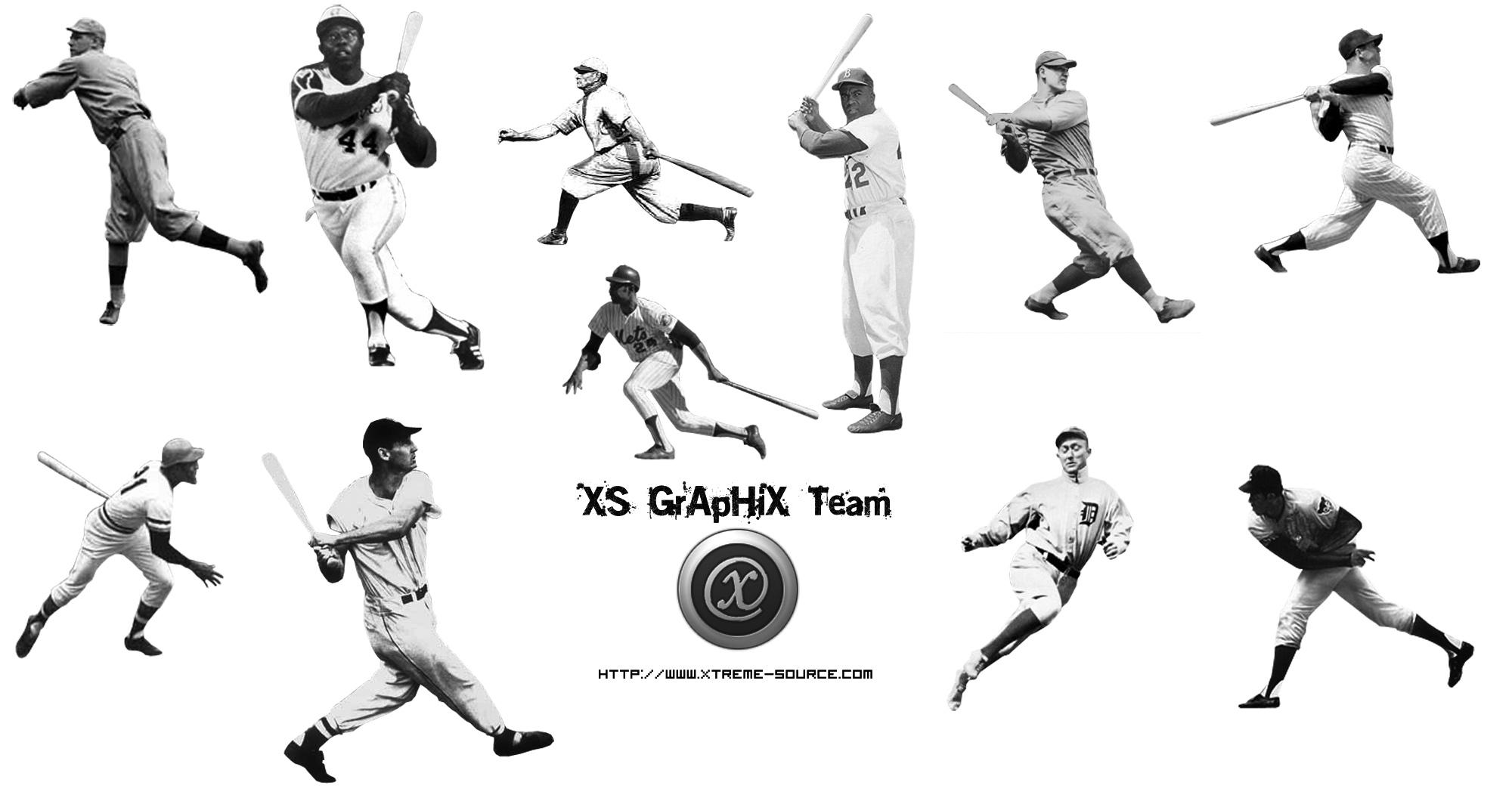 MLB Legends Brush Set by Jamaal10 on DeviantArt