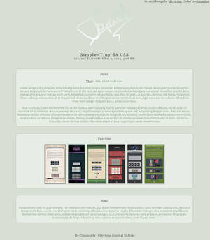 Simple+Tiny dA CSS