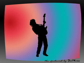 The guitarist (animation) by J222R