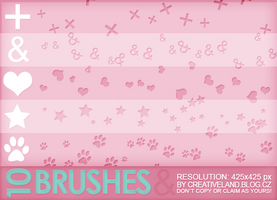 10 Brushes by Chloe by chloe-velvetart