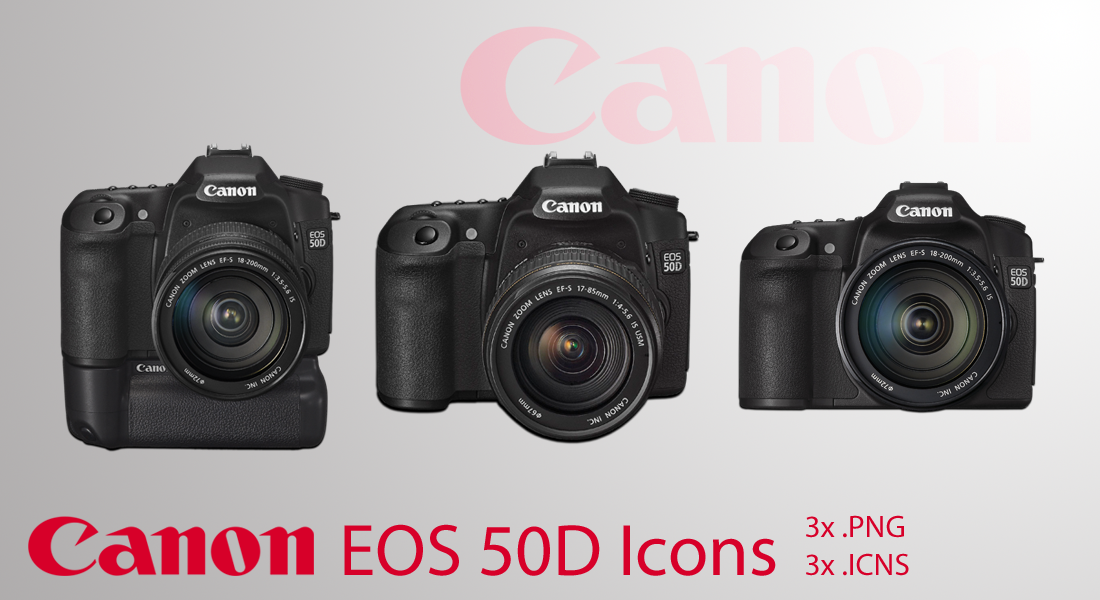 Canon EOS 50D Icons by photoartiste