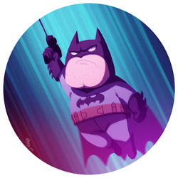 I'M BATMAN!!! gif