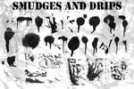 Paint Drips-Smudges Brush Set