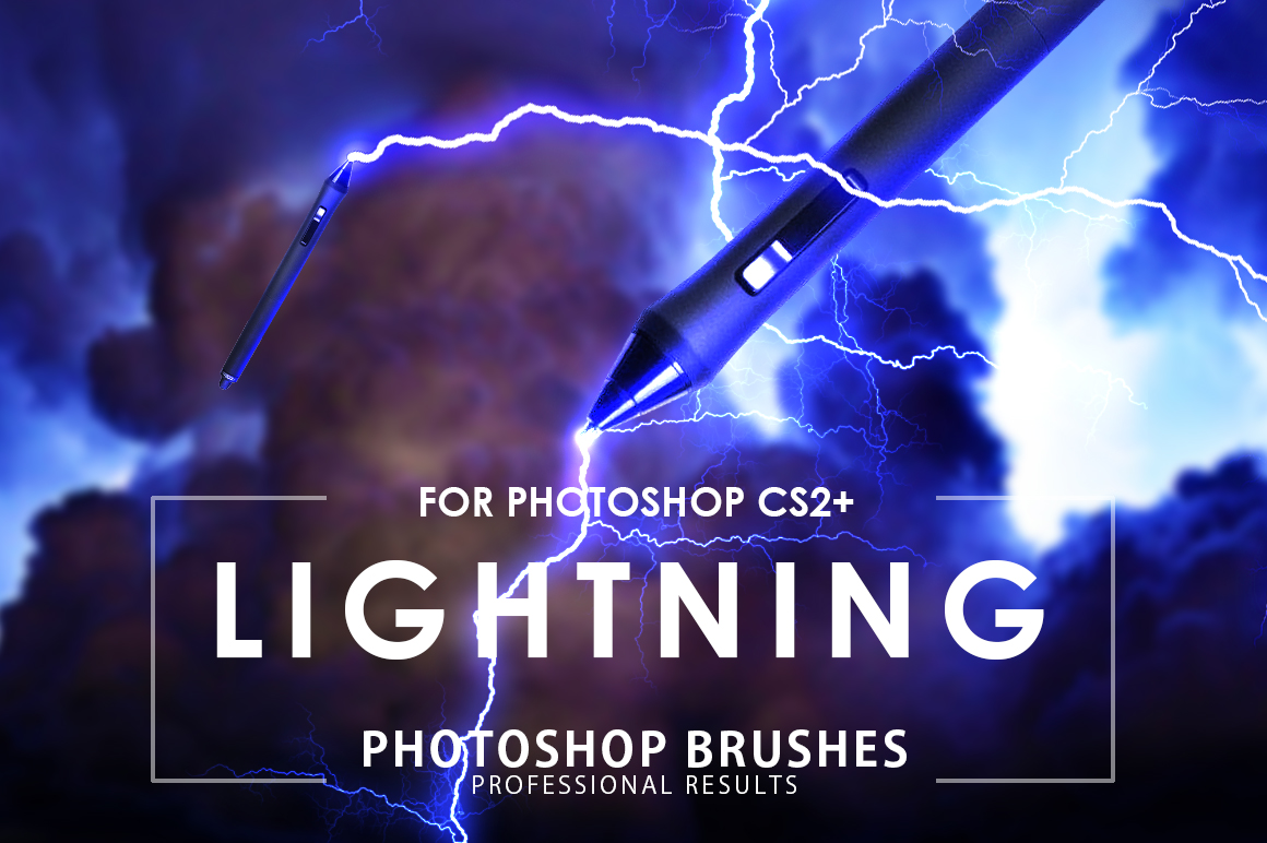 Lightning photoshop Brushes by ArtistMEF on DeviantArt