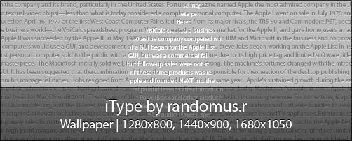 iType by randomus-r