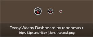 Teeny Weeny Dashboard