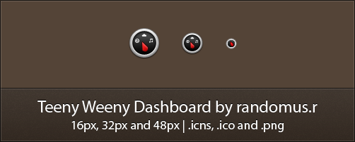 Teeny Weeny Dashboard by randomus-r