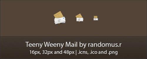 Teeny Weeny Mail by randomus-r