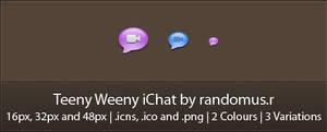 Teeny Weeny iChat