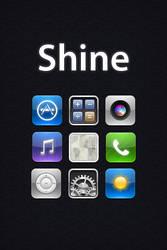 Shine iPhone Theme by randomus-r
