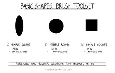 Basic Shapes Brushes Toolset Ver 1.0