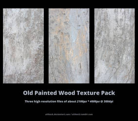 Old Painted Wood Texture Pack