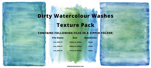 Dirty Watercolour Washes Texture Pack