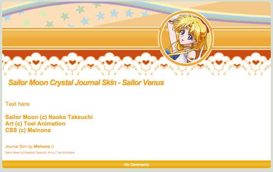 SMC: Sailor Venus Journal Skin