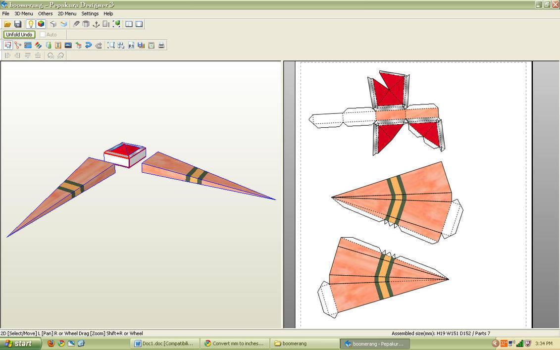 Life-size boomerang by sah24