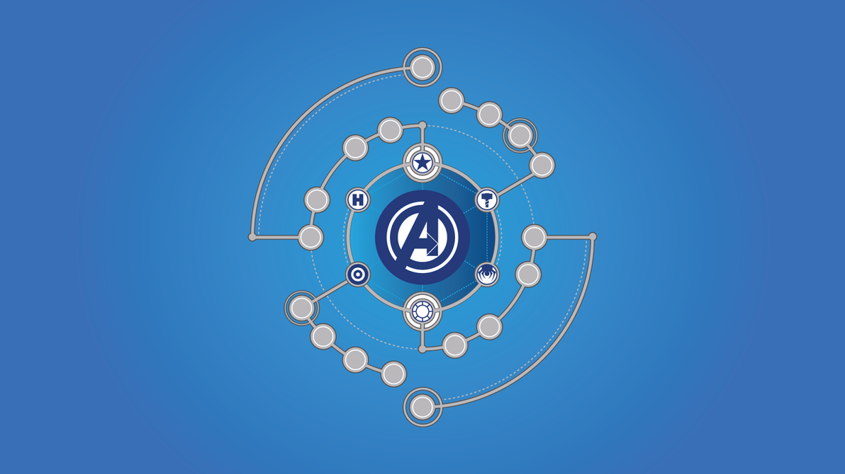 Top Wallpaper Marvel Minimalistic - avengers_assemble_wallpaper_by_emrah007-d804y02  Pictures_594635.png