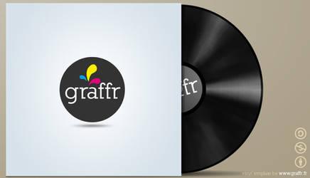 vinyl cover template by graffr