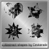 Cevkarade - Abstract shapes v1 by Cevkarade