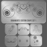 Ornaments custom shape set 01 by Cevkarade