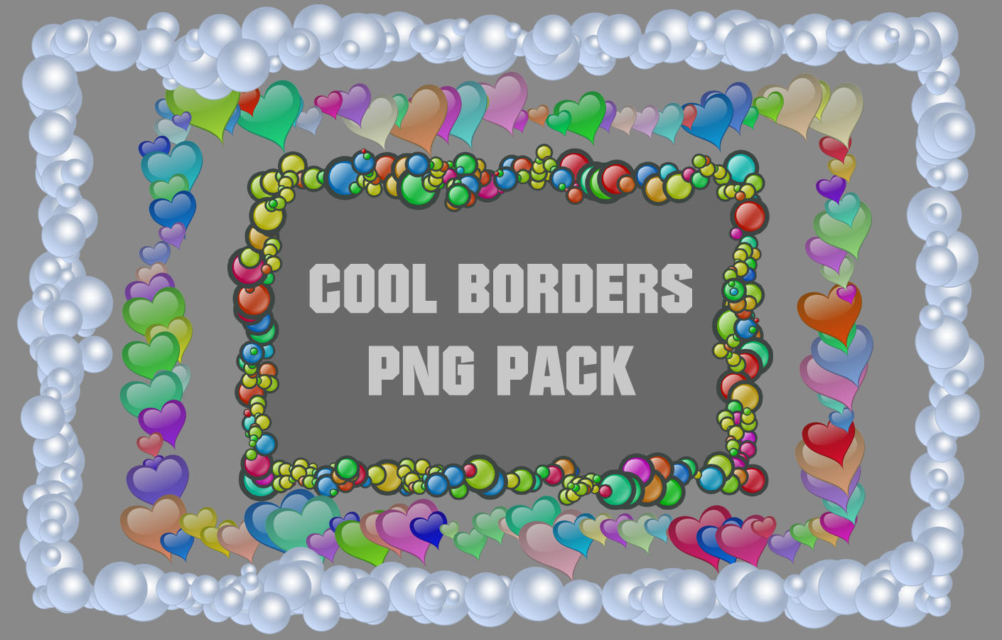 cool borders png pack by cevkarade scraps cool borders for personal ...