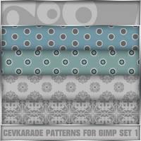 Cevkarade patterns for GIMP v1