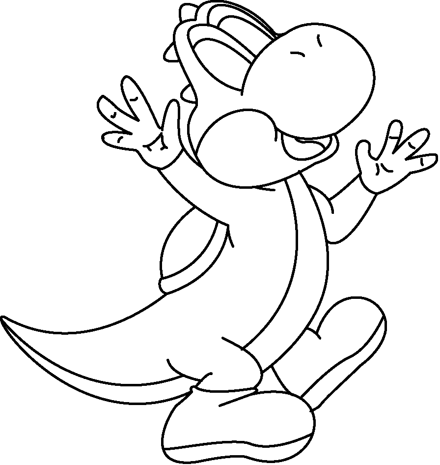 How To Draw Art Yoshi