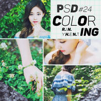 [160620] PSD COLORING #24 by RinYHEnt
