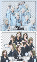 [PACK RENDER #56 57] TAEYEON - SNSD by RinYHEnt