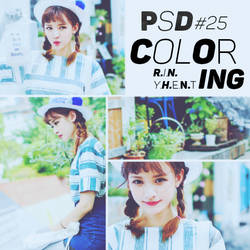 [160702] PSD COLORING #25 by RinYHEnt