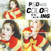 [160714] PSD COLORING #26 by RinYHEnt