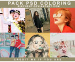 PACK PSD COLORING BY RinYHEnt