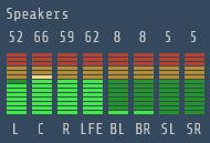Spectrum Analyzer 7.1 Surround Sound