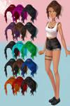 Pack de pelucas 5 innefable