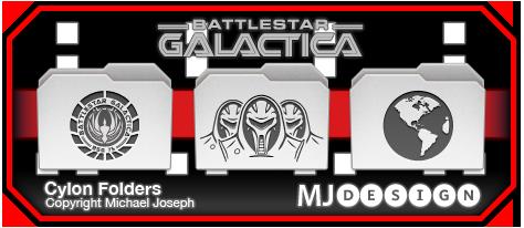 Cylon Folders by MJoseph15
