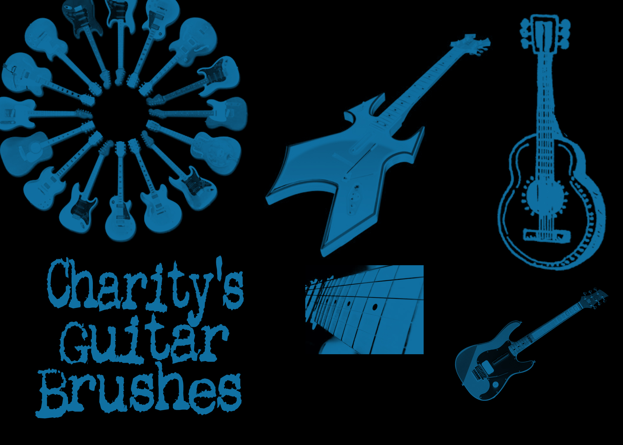 Charity's Guitar Brushes
