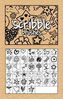 Scribble brushes by rayedwards