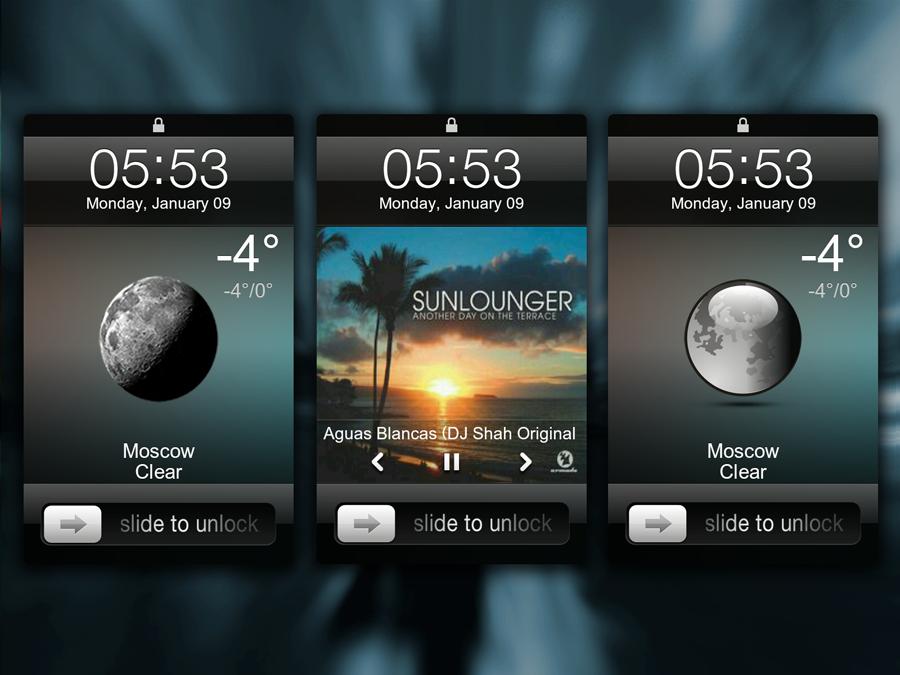 iOS Lock Weather - MIUI LS Theme by ex-slym on DeviantArt