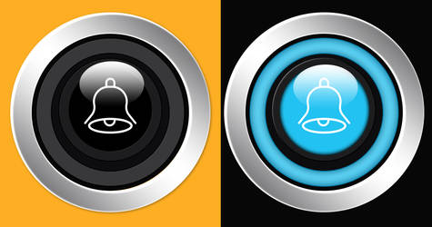 ON OFF Button PSD