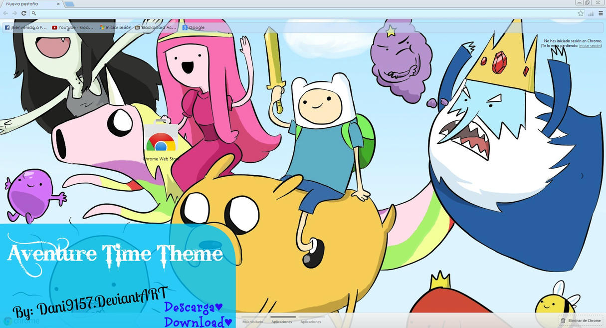 adventure time google skins -#main