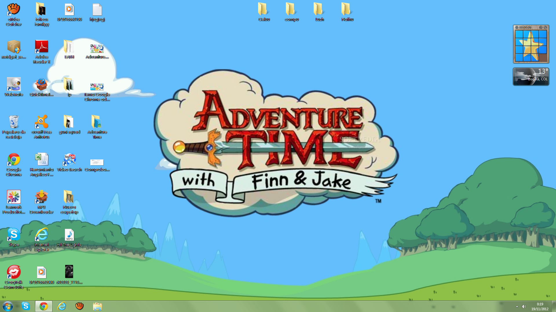 Google themes windows 7 free download -  Theme For Windows 7 Adventure Time By Dani9157