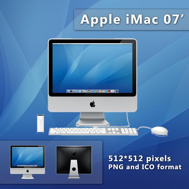 Apple iMac 07' by kampongboy92