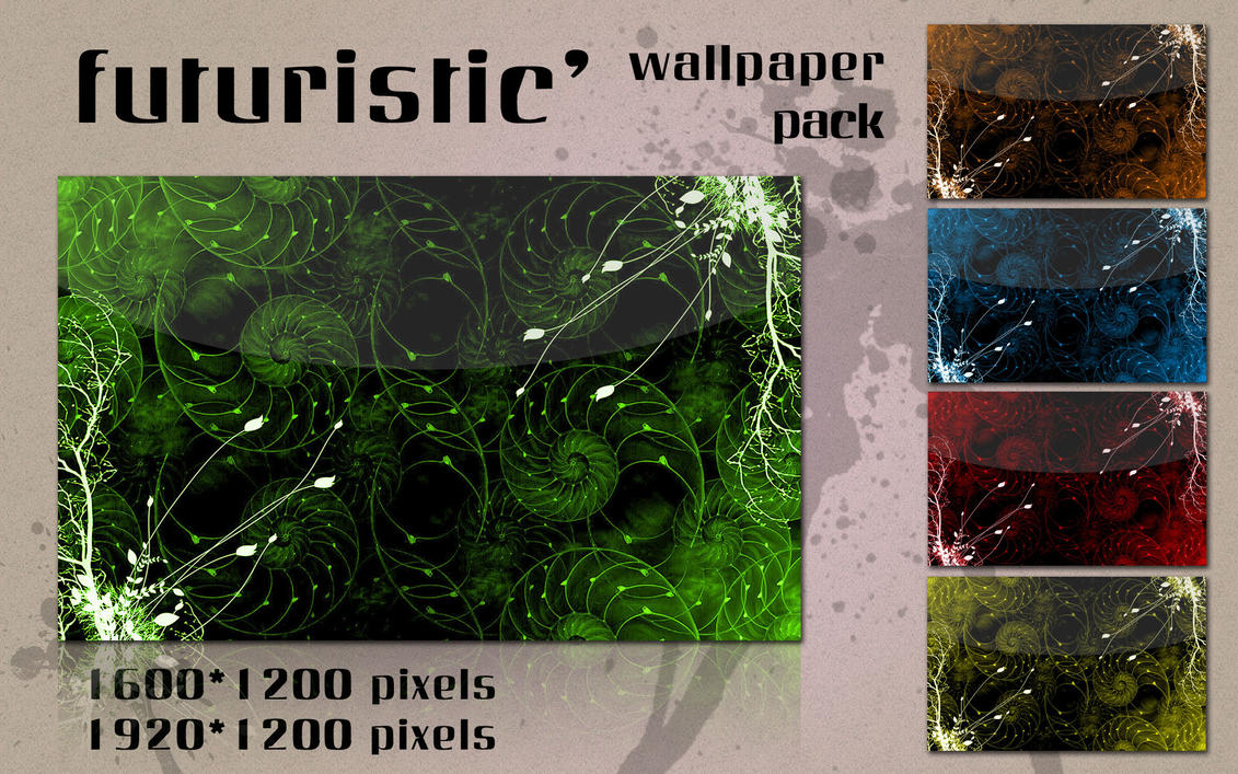 Futuristic' Wallpaper Pack by kampongboy92
